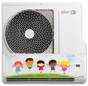 Klimatyzator z grafiką